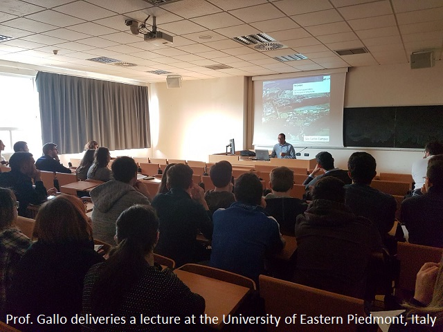 Lecture in Alessandria